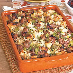 Sausage-and-Fennel Stuffing Recipe