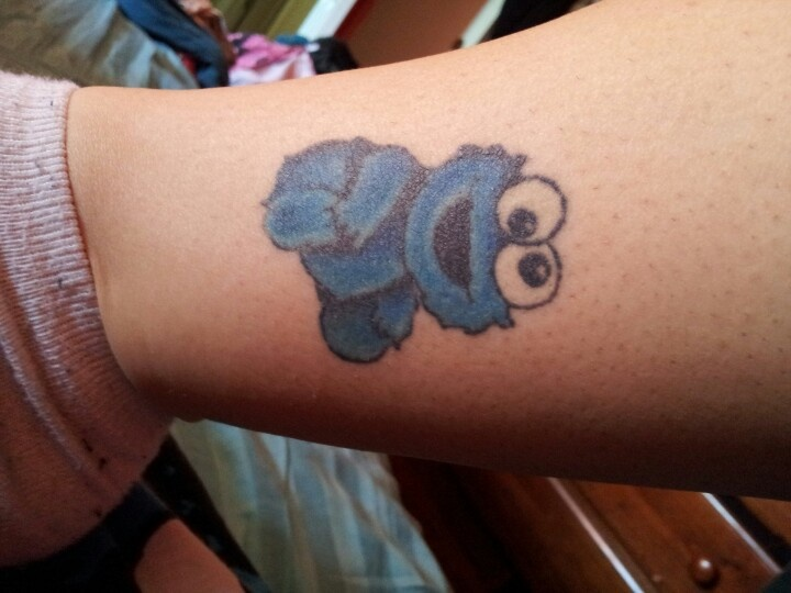 My cookie monster tattoo all about cookie pinterest for Monster tattoo designs