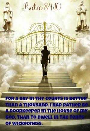 Christian As Doorkeeper | just b.CAUSE