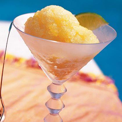 Champagne-and-Orange Granita Cocktail Recipe — Dishmaps