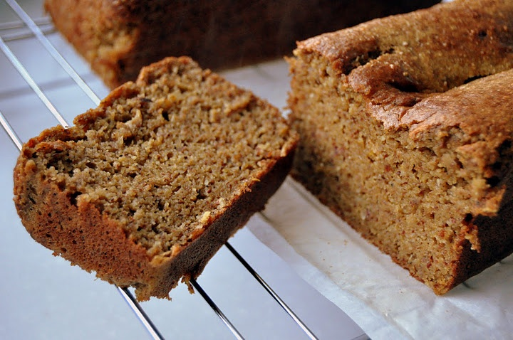 Pumpkin bread...I might make this today!