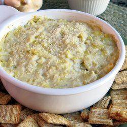 Healthy Warm Artichoke Dip | Appetizers | Pinterest