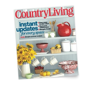 Country Living partnered up with Wayfair to create a new web boutiue wayfair.com/shopcountry