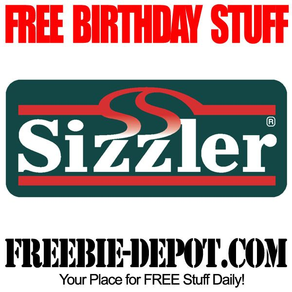 BIRTHDAY FREEBIE Sizzler - FREE BDay Steak