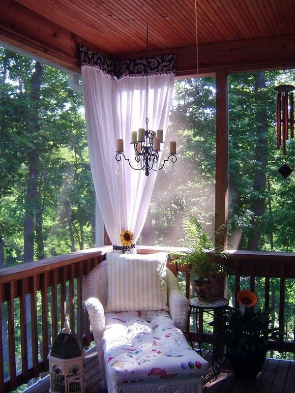 Small Backyard Getaways : Backyard Getaways Beautiful PorchScreen Room Ideas