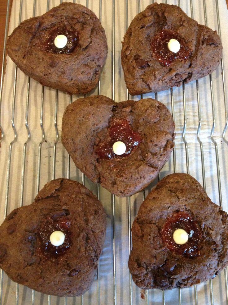 Skinny Chocolate Chip Buttermilk Scones Recipe — Dishmaps