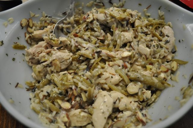 Chicken and Wild Rice Casserole | Recipe
