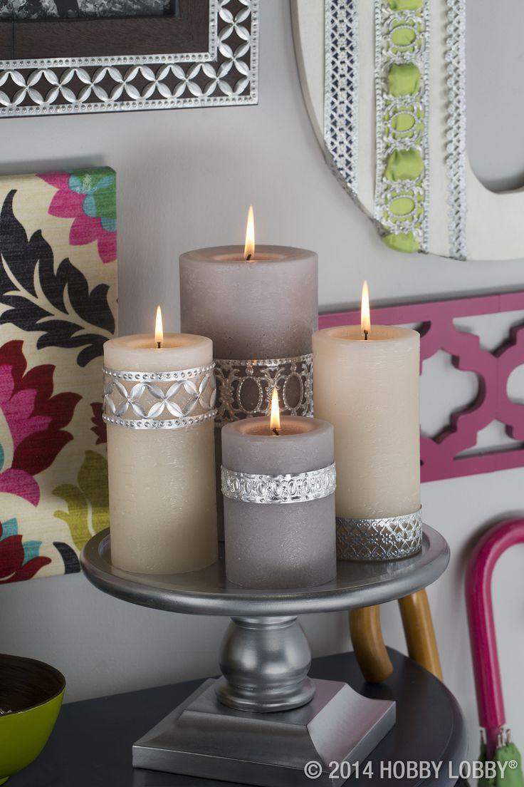 Свечки в домашних условиях фото