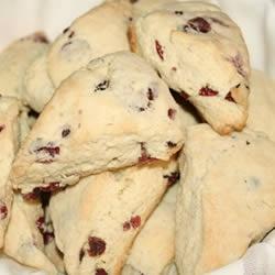 Grandma Johnson's Scones Add 1/2C sugar and 1 t. vanilla to the batter ...