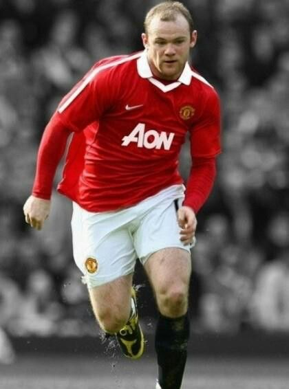 Wayne Rooney X5 Wayne Rooney MaNcHestEr UniTeD thE Red ReVoLutiOn Pinterest
