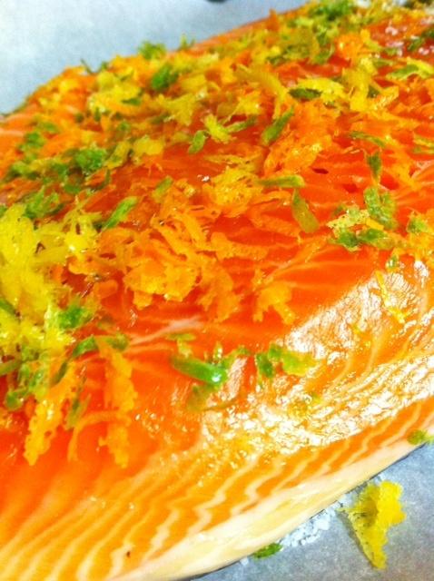 Ruhlman's Citrus Cured Salmon | Recipes | Pinterest