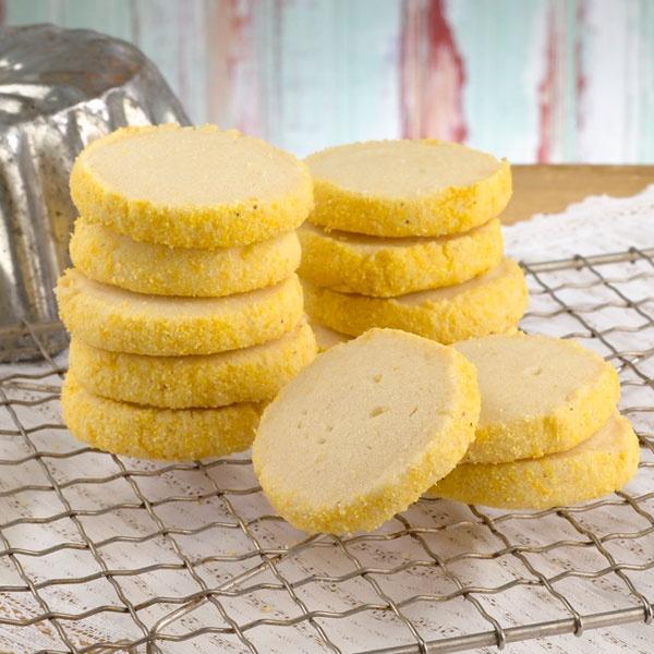 Lemon cornmeal shortbread from Magnolia. | My Style | Pinterest