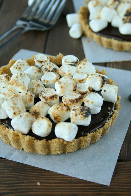 Chocolate Truffle S'more Tarts...need I say more?