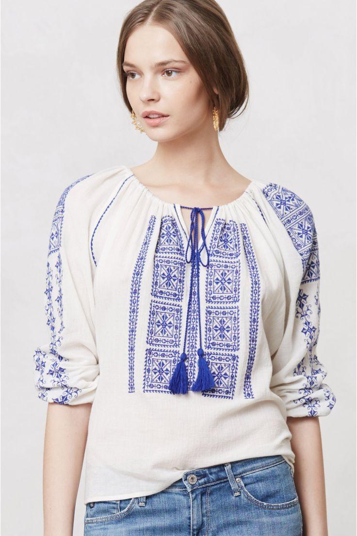 Traditional romanian blouse romania my beautiful country for Romanian wedding dress designer