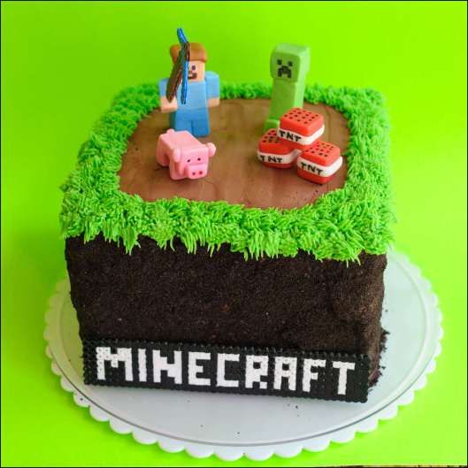minecraft cake ideas birthday Pinterest