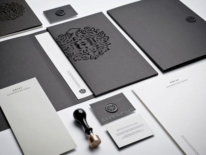 Hörst brand identity by Lg2boutique