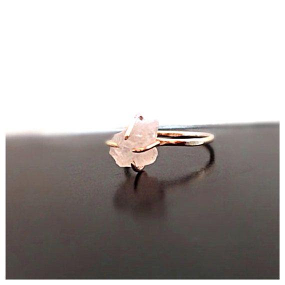Rose Quartz Wedding Rings 020 - Rose Quartz Wedding Rings