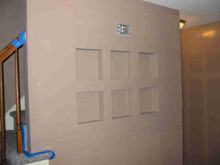 recessed shelves design home plans between the studs