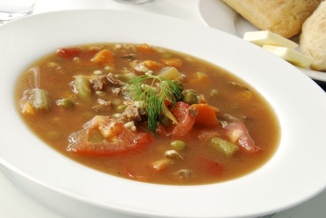 Pearled Barley and Ground Beef Soup: The perfect way to use up your ...