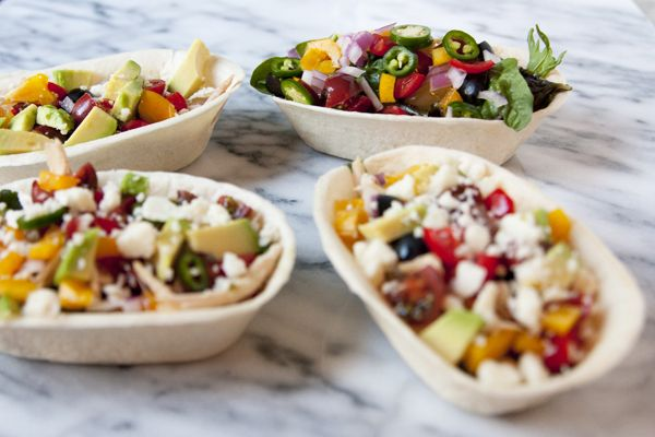 chicken taco bowls | Mexican Food | Pinterest