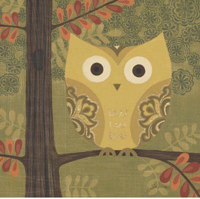 Forest Owl Print by Sapna Sapna - AllPosters.co.uk