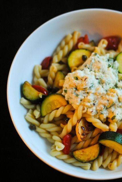 Squash and Ricotta Gemelli Saute | Recipe