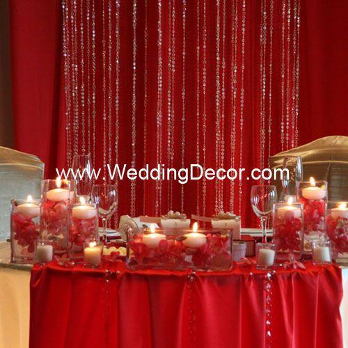 Wedding Gift Table Decoration Ideas : Head Table/ Gift Table Decorations Wedding Ideas Pinterest