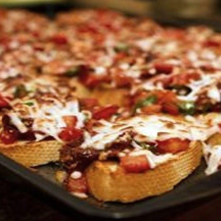 Double Tomato Bruschetta II Recipe | Bruschetta/Crostini | Pinterest