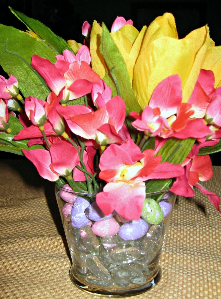 easy easter centerpiece | PinProjects Completed 2012 | Pinterest