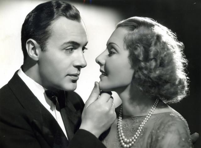 """""""History is Made at Night,"""" 1937, starring Charles Boyer and Jean Arthur."""