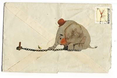 GUSTI (from the wonderfull childrens book  El Elefante Encadenado by Jorge Bucay)