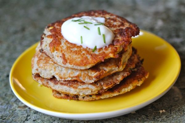 Potato, Corn & Chive pancakes! | Vegetables & Side Dishes | Pinterest