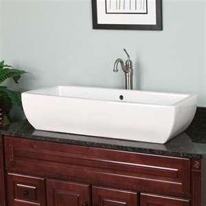 Vessel Trough Sink : TROUGH VESSEL SINK Bathroom Pinterest