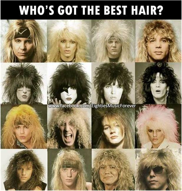 80s hair band radio
