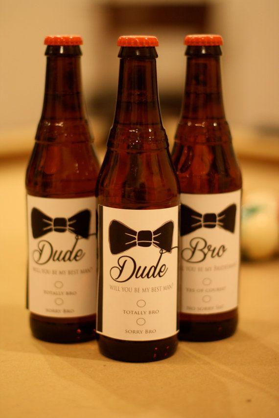 Custom labels groomsman liquor bottle labels custom will you be my
