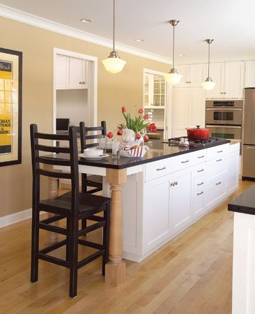 Long narrow island for Long narrow kitchen island ideas