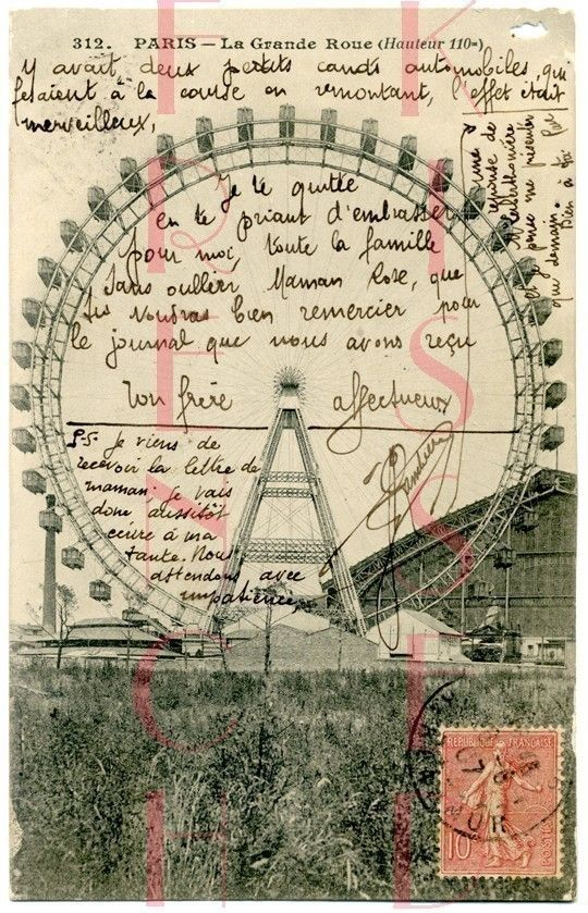 old letters french postcards - photo #21