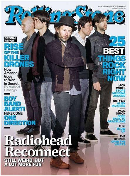 Radiohead - Rolling Stone Magazine