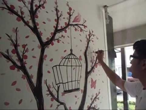 Guturo en vastef wall painting pinterest for Como dibujar un mural en la pared