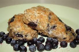 Blueberry almond flour scones | Healthy Recipes | Pinterest