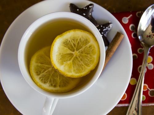 Winter Wassail...fancy shmancy for term for citrus apple tea :)