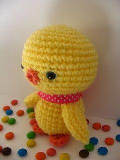 Amigurumi Baby Chick Pattern | AllFreeCrochet.com