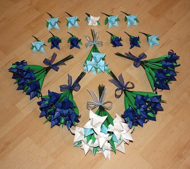 origami wedding flowers origami pinterest