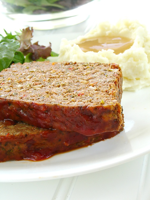 Tofu-and-Meat Loaf Recipe — Dishmaps