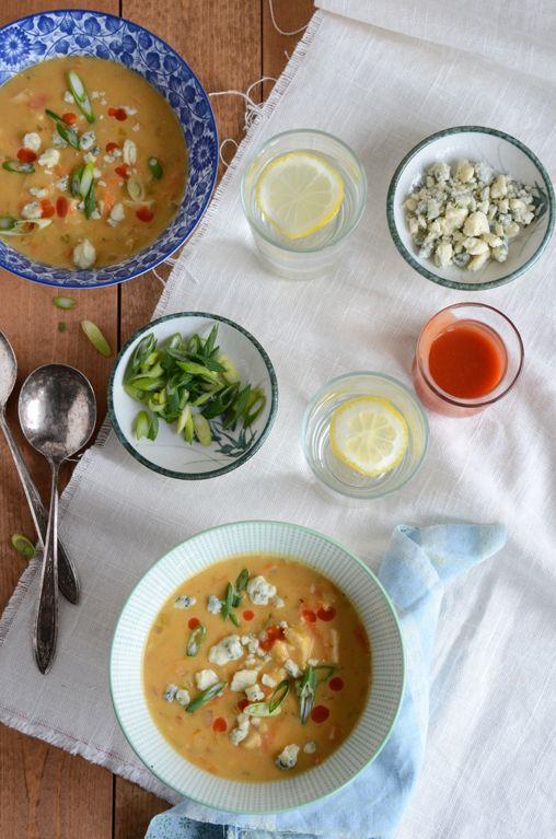 Buffalo Wing Chowder | Meals to Make - Fall/Winter | Pinterest
