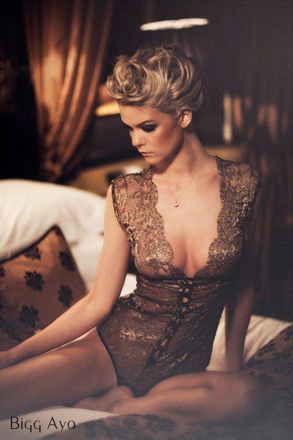 Diva Lace Bodysuit by Sonata Lingerie