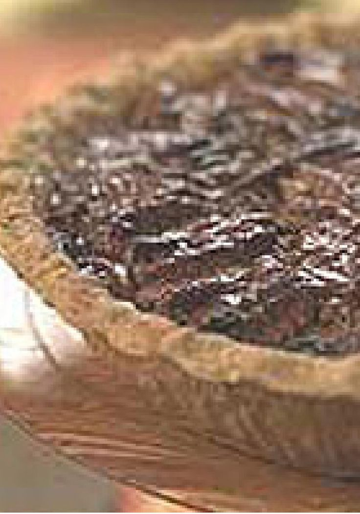 Pecan Pie — Eggs, corn syrup, butter and pecans are baked in a pie ...