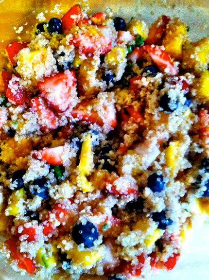 Quinoa Fruit Salad | Recipes | Pinterest
