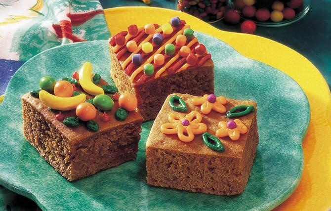Gingerbread Cake Squares | Recipes: Cakes & Frostings | Pinterest