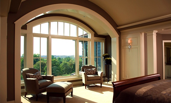Casement picture and arch top windows dream home for Arch top windows